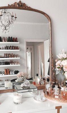 Home Interior Inspiration .Home Interior Inspiration Bedroom Vintage, Parisian Bedroom Decor, Parisian Room, Vintage Apartment Decor, Modern Room Decor, Vintage Room, Vintage Decor, Parisian Chic Decor, Vintage Inspired Bedroom