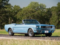 1966 Ford Mustang Convertible.