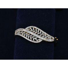Online Shopping for Diamond Bracelet | Bracelets n Bangles | Unique Indian Products by Orne Jewels - MORNE61729330520
