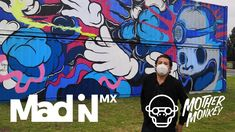 Mural container por Mothers | CitiBanamex Conecta Mad, Baseball Cards, Live Music, Concert