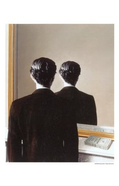 Rene Magritte, La Reproduction Interdite, c.1937