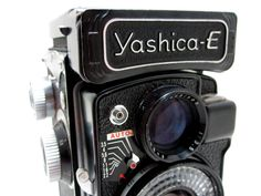 Yashica E Flash TLR Camera - Very Rare - With original Leather Case. $119.99, via Etsy.