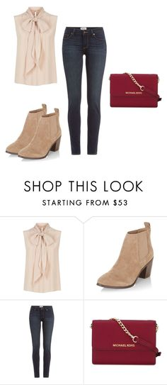 """Untitled #307"" by tracie-renae on Polyvore featuring MaxMara, New Look, Paige Denim and MICHAEL Michael Kors"
