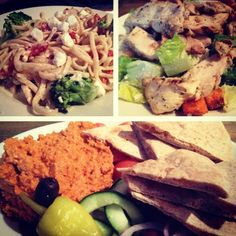 Want to experience authentic Greek food without the cost of a plane ticket? Look no farther than University City! Momos Greek Restaurant is one of our favorite local restaurants! Check out the pictures below of some of the dishes we tried this visit!  1.Whole Wheat pasta with Vegetables and Alfredo Sauce 2.Caesar Salad with Chicken 3.Hummus with Whole Wheat Pita Bread   http://bestrestaurantsinstlouis.com/restaurant/all-cuisine/momos/