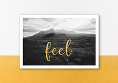Feelings, Frame, Nature, Blog, Etsy, Home Decor, Pictures, Paper, Scotland