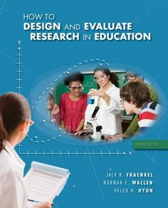 How to Design and Evaluate Research in Education « Library User Group
