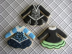 Irish Dance Dress Cookies