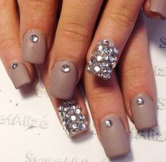 matte with jewels