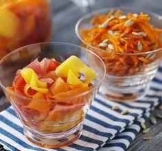 Sötsyrliga morötter