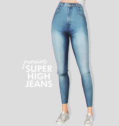 Lana CC Finds - super high jeans