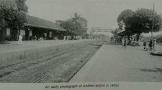 Andheri station, Mumbai, 1940s