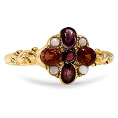 18K Yellow Gold The Darlena Ring from Brilliant Earth