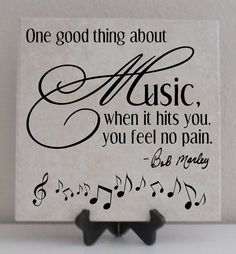 """""""One good thing about music, when it hits you, you feel no pain"""" - Bob Marley Bob Marley, I Love Music, Music Is Life, Music Lyrics, Music Quotes, Music Sayings, Song Quotes, Quotes About Music, Mundo Musical"""