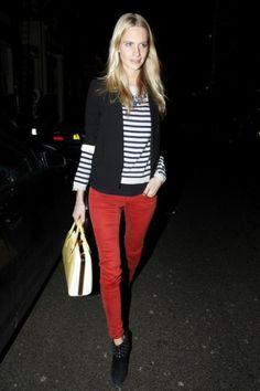 Street Style: Poppy Delevigne