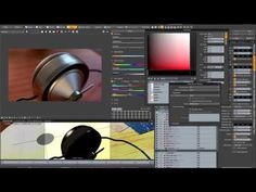 V-Ray for MODO - Quick Start: Materials (Part 1) - YouTube