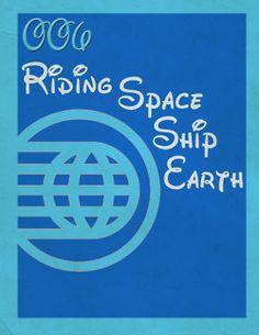 My Favorite Disney Thing 006: Riding SpaceShip Earth