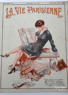Chéri Hérouard (1881-1961). La Vie Parisienne, 28 Janvier 1928. [Pinned 27-iii-2015]