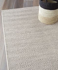 Armadillo Decorator Rugs Earth Collection - Herringbone Weave - Limestone and Charcoal from Curious Grace Herringbone Rug, Nordic Furniture, Chevron Rugs, Beige Carpet, Armadillo, Woven Rug, Floor Rugs, Rugs On Carpet, Carpets