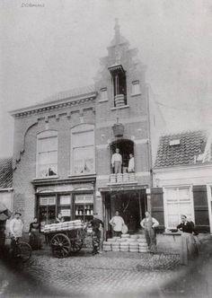 Kaashandel Voeten rond 1900.