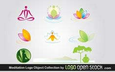 Meditation Logo Object Collection, es a collection of vector logo objects that perfectly fits any logo project related to yoga, relax, meditation, spiritual science and many other projects of that kind. Under Creative Common 3.0 Attribution License. You are allowed to use it personal and commercial, you can't resell. Credit us and link back to logoopenstock.com if you use this logo. Enjoy!