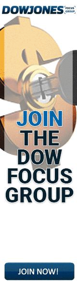 You have been invited to the Dow Jones Focus Group