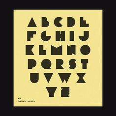 Morro is a typeface based on simple geometric shapes – circles, triangles and rectangles. Geometric Font, Geometric Shapes, Avengers Symbols, Text Types, Text Effects, Triangles, Outline, Circles, Stencils