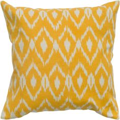 Rizzy Home Ikat Pillow & Reviews | Wayfair