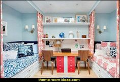 teens style decorating shared spaces-bedroom ideas-shared bedrooms