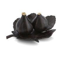 Fig Leaf Salt & Pepper Set Oxidized Michael Aram. So gorgeous!
