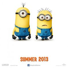 Despicable Me 2 opens this summer.