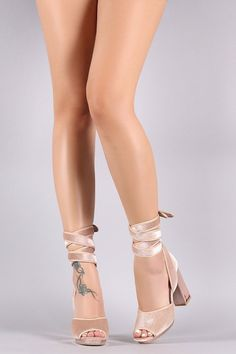 b5f477f7fa1 These heels features a soft velvet fabrication