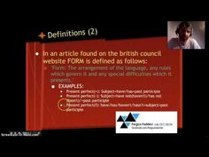 ▶ CELTA Essentials: Language analysis - YouTube