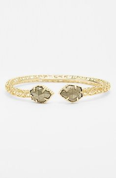 Kendra Scott 'Piper' Stone Openwork Bangle