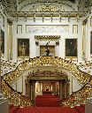 the grand staircase aat Buckingham palace