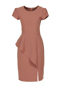 Lovely Dresses, Dresses For Work, Wedding Outfits For Women, Church Attire, Office Outfits, Classy Outfits, Dress Patterns, Blouse Designs, African Fashion