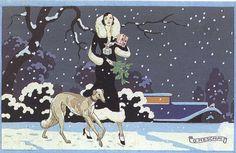 Sera di Natale I - postcard by Meschini, 1930 | Flickr - Photo Sharing!