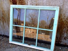 old window frames 32x27 by handmadebetty on Etsy, $45.00