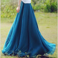 #Longskirt #skirt #chiffonskirt
