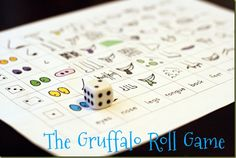A game to go along with the book The Gruffalo