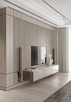 Magnificent Modern Marble Interior With Metallic Accents - Magnificent Modern M. - Magnificent Modern Marble Interior With Metallic Accents – Magnificent Modern Marble Interior Wi - Tv Wall Design, House Design, Tv Wanddekor, Modern Tv Wall Units, Tv Console Modern, Modern Wall, Marble Interior, Modern Interior Doors, Simple Interior