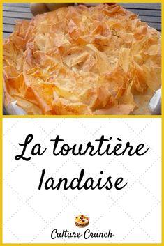 La Tourtiere, Desserts With Biscuits, Crunch, Pie Recipes, Pineapple, Muffins, Brick, Deco, Breakfast