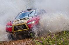 HRX Ford with Nasser Al-Attiyah in Spain
