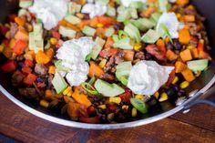 Mexicaanse Eenpansmaaltijd met zoete aardappel | Ohmyfoodness | Bloglovin