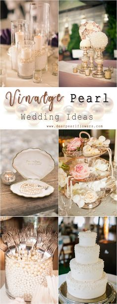 35 Chic Vintage Pearl Wedding Ideas You Ll Love