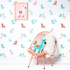 Alpacas (wallpaper panel)
