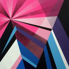 Matt W. Moore - Crystals & Lasers Exhibition - 2010 // Geometric Art