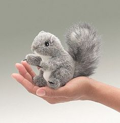 Mini Squirrel Finger Puppet at theBIGzoo.com, a family-owned store. Check our sales