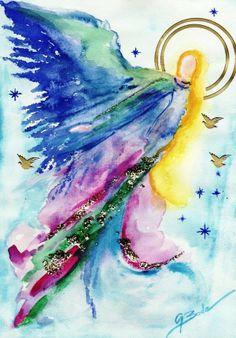 ~~~Beautiful angel painting