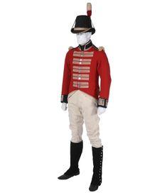 An original example of the uniform worn by the Royal Marines at Trafalgar British Royal Marines, British Soldier, British Army, British Royals, Royal Marines Uniform, Army Uniform, British Uniforms, Navy Uniforms, Military Uniforms