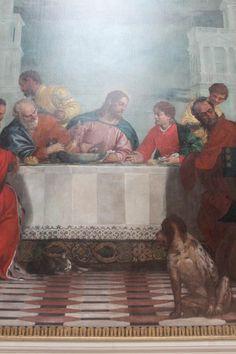 http://1mgmu.com/pic/alb/rimini14/IMG_5937.JPG Паоло Веронезе (1573). «Пир в доме Левия». Фрагмент.
